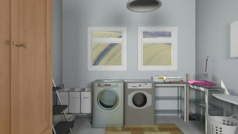 Modern laundry room - Modern - by Sotiria Oups
