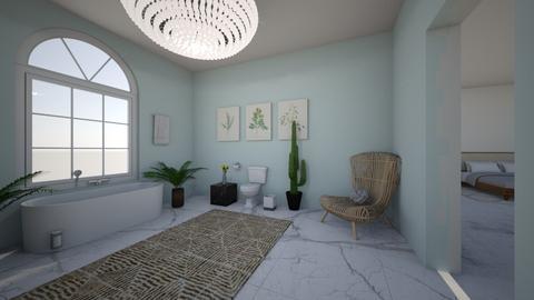 marble boho dream - Bathroom - by marleybelle17