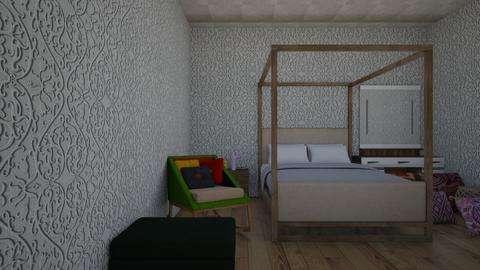 Cozy room - Bedroom - by Rajill Aizzah