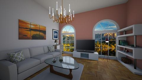 Skyline - Classic - Living room - by Twerka
