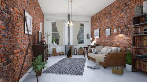 Brooklyn 2 - Living room - by barnigondi