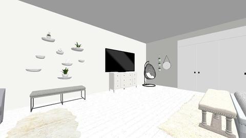 fluffy - Bedroom - by fredjuhh