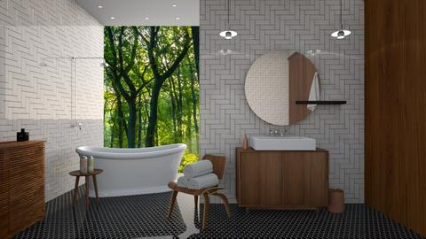 mcm - Bathroom - by siljaj