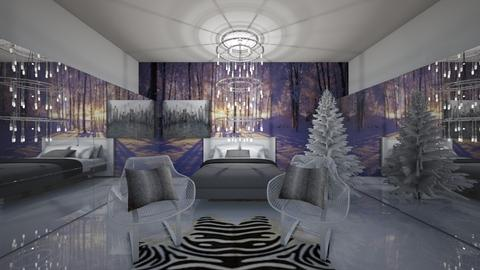 Winter Fun - Bedroom - by Izabel_M