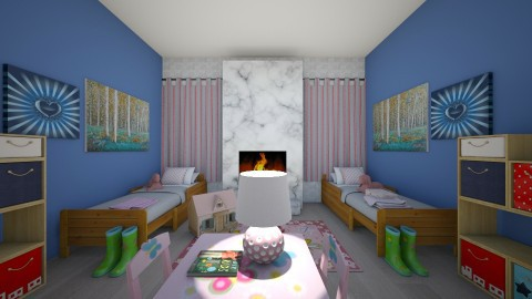 Happily Living as Girls - Classic - Kids room - by hdricci01123890