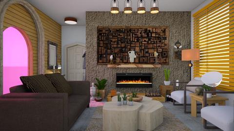 Chunky monkey  - Living room - by Tree Nut