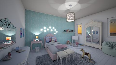 frozen princess - Kids room - by antonieta123