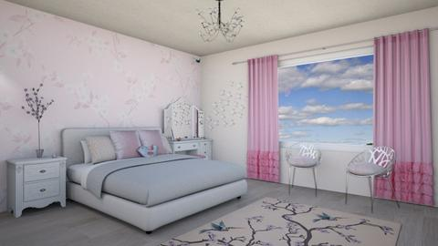 Blossom bedroom - Modern - Bedroom - by Psweets