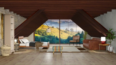 Campo - Living room - by Alecio