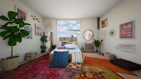 Boho - Bedroom - by RoseGold417