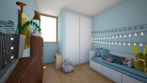 My Original Room - Feminine - Bedroom - by  Rawbean