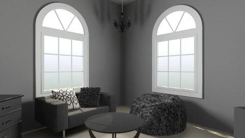 Dark Room - Bedroom - by Rachel NarwhalSparkle