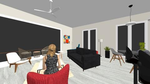 wd1 - Modern - Living room - by driessen