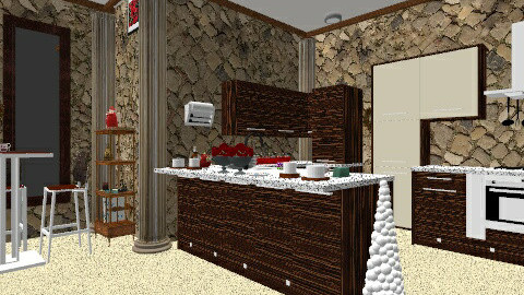 Cozy Place in XMAS♥ - Modern - Kitchen - by Ashleymg