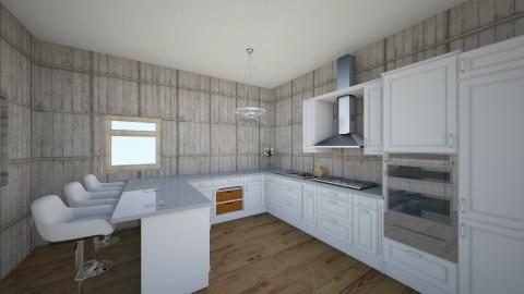 Elso - Minimal - Kitchen - by Monicsillag