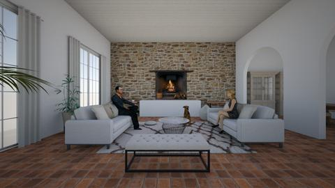 shabby modern - Living room - by Angela Quintieri