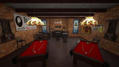 billiards bar - by fippydude