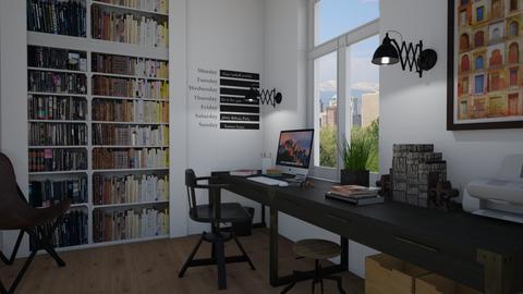 Long desk - Office - by Tutsi