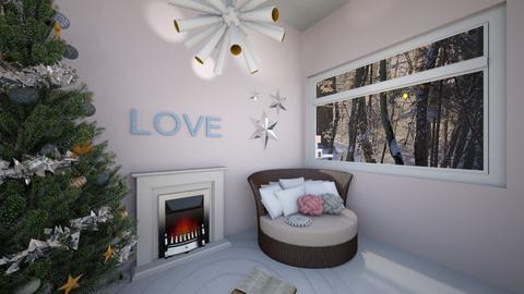 winter room - Bedroom - by inbal avni