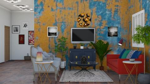 Boho Chic Living 1 - Living room - by abbyt94