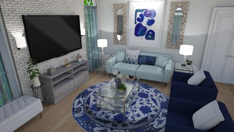 A Little of Both Worlds - Living room - by OnceInALifetime