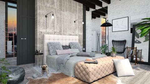 loft bedroom - Eclectic - Bedroom - by esmeegroothuizen
