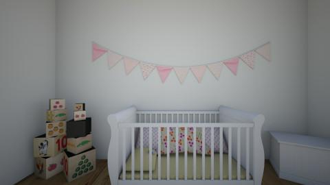 pink - Kids room - by Katherine Gilbert