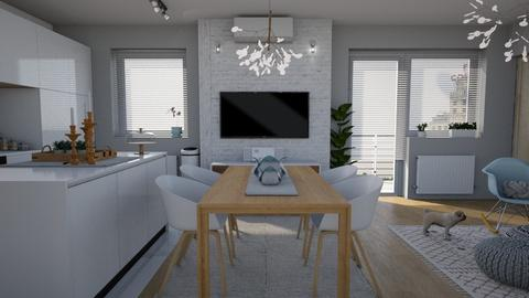 Lux Apt_open concept - Modern - by meggle