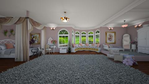 bedroom - by Christine Keller