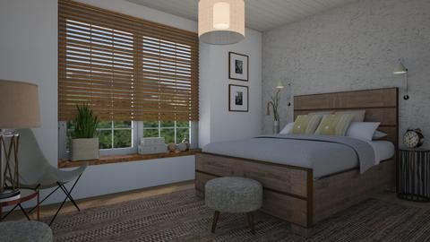Earthy bedroom - Bedroom - by Tuitsi