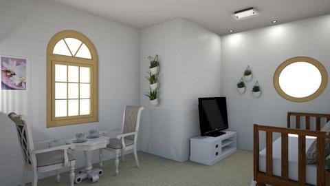 Hide Away shed - Living room - by hauser