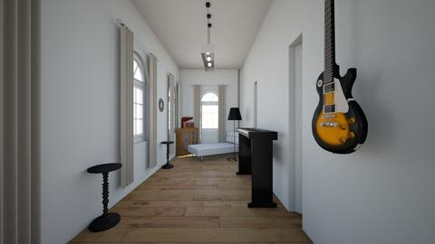 new home music room - Minimal - Living room - by Stephanie Felix