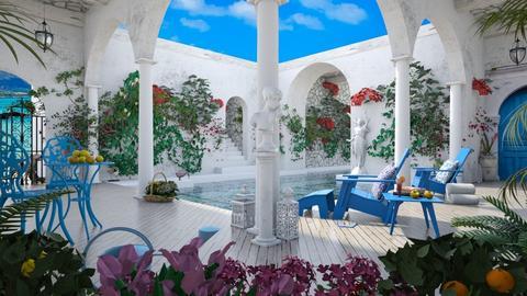 Design 437 The Greek Life - Garden - by Daisy320