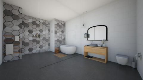 Minimal Bathroom - Minimal - Bathroom - by kennyhollis99