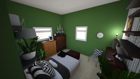 Dans New Bedroom_Idea 1 - Eclectic - Bedroom - by dreilley