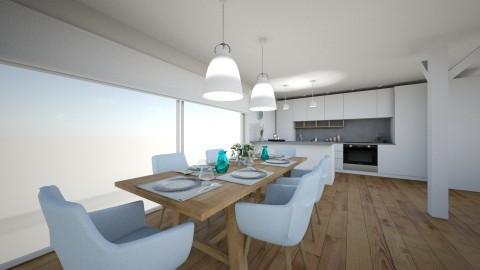 scandinavian dining room  - by annsal