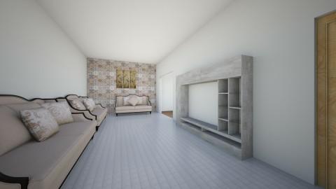 living room my home 1 - Modern - Living room - by mostafa farhan