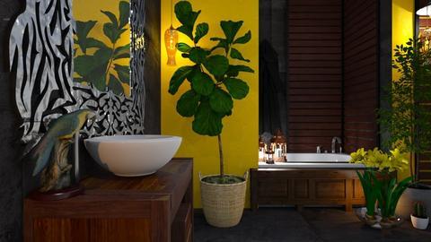 Jungle Bath - by Yavanna