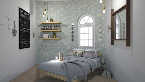 pastel - Bedroom - by zenaalomran