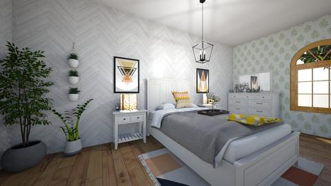 Modern Girl Room - Bedroom - by Graham Galloway