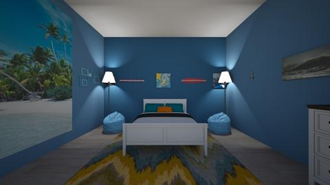 surf room - Bedroom - by kbrunson