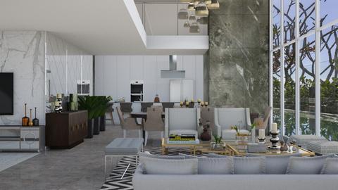 Baker - Living room - by aletamahi