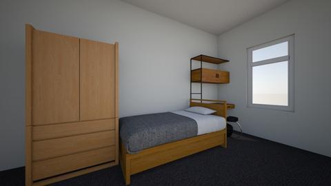 dorm  - Bedroom - by allyian