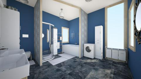 bathroom 1 - Bathroom - by Julia Czeko Zienkiewicz
