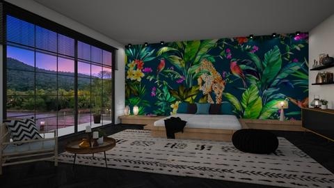 JUNGLE - Bedroom - by NadineHerwig