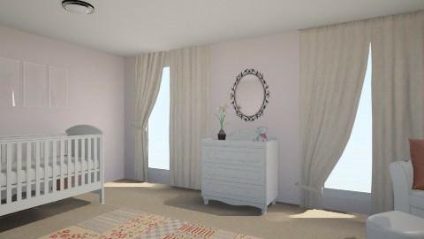 Girl Nursery - Vintage - Kids room - by BonnieKearns