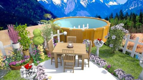 Garden  - Minimal - Garden - by Nina2601