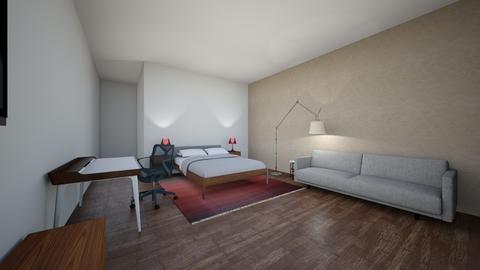 Miguel Antor propuesta 2 - Bedroom - by karlitajmlm