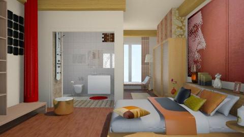 Master Bedroom - Bedroom - by sabrinato