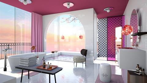 Pink swim - Bathroom - by chania
